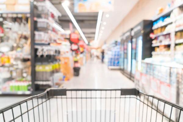 film antimicrobien pour grandes surfaces supermarché alimentaire caddie borne tactile caisse