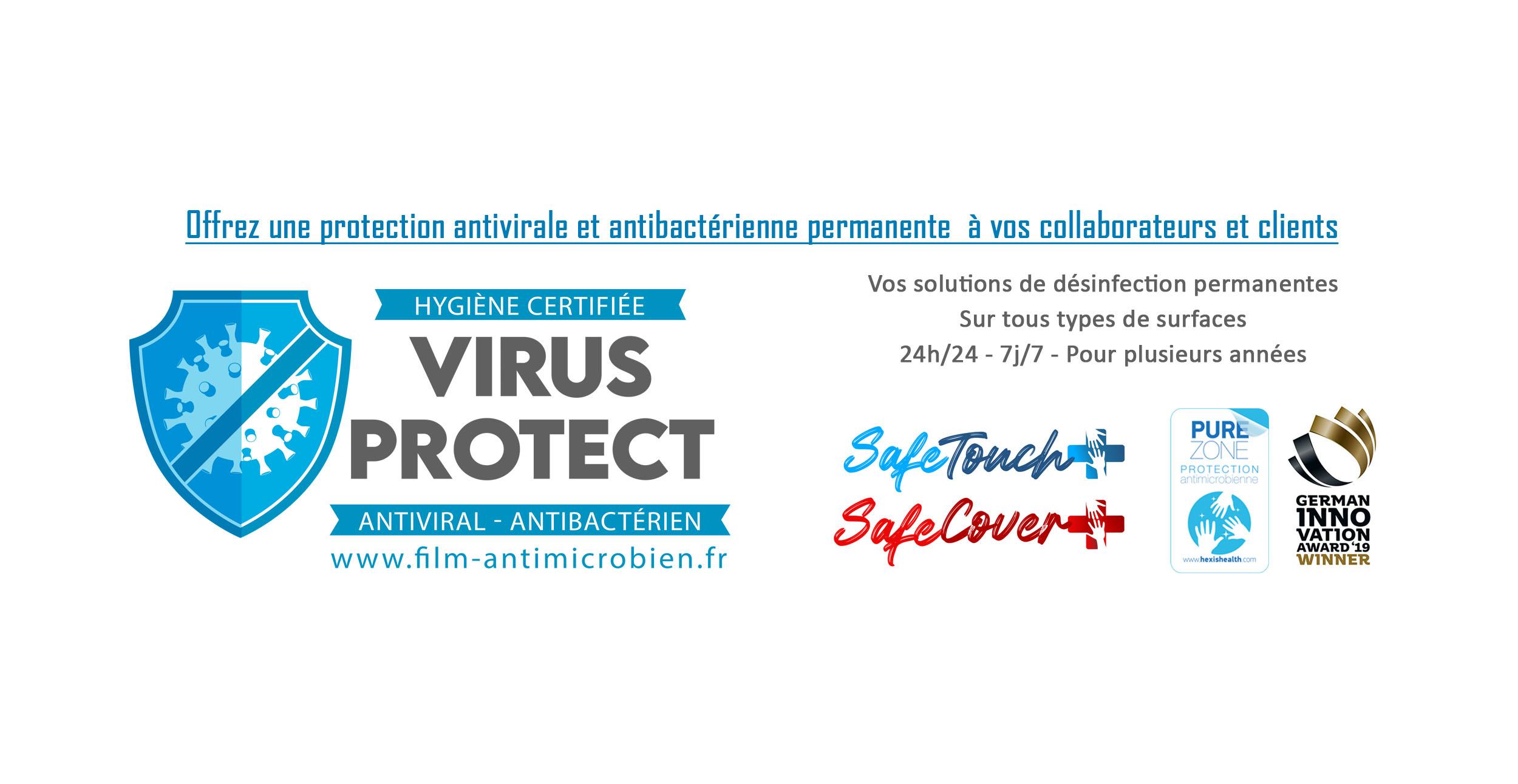 virus protect votre solution clé en main de désinfection permanente
